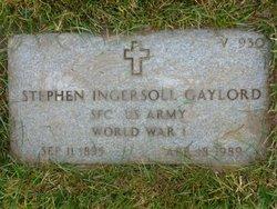 Stephen Ingersoll Gaylord