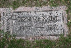 Gertrude <I>Kirkham</I> Hall