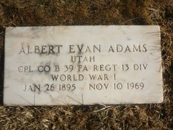 Albert Evan Adams