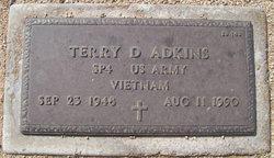 Terry D Adkins