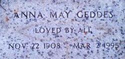 Anna May <I>Christensen</I> Geddes