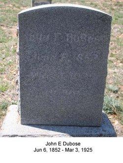 John Elias DuBose