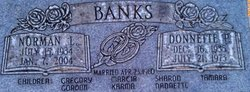 Donnette <I>Peterson</I> Banks