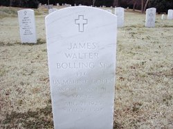 PFC James Walter Bolling, Sr