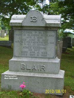 Agnes <I>Sanborn</I> Blair
