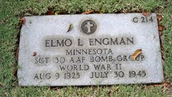 Sgt Elmo Lawrence Engman