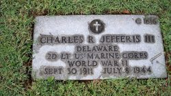 2Lt Charles Robinson Jefferis, III
