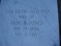 Nan Edith <I>Outland</I> Jones