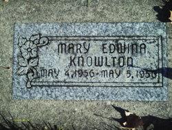 Mary Edwina Knowlton