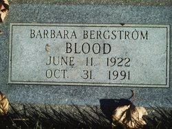 Barbara Clarissa <I>Bergstrom</I> Blood