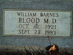 Dr William Barnes Blood