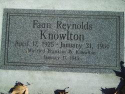 Faun <I>Reynolds</I> Knowlton