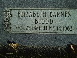 Elizabeth Beata <I>Barnes</I> Blood