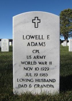 Lowell Elmer Adams