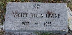 Violet Helen <I>Menapace</I> Irvine