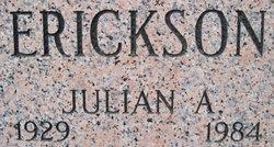 Julian Ardell Erickson