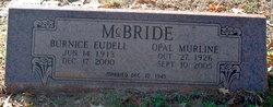 Opal Murline <I>Smith</I> McBride
