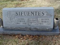 Maria <I>Vasquez</I> Sifuentes