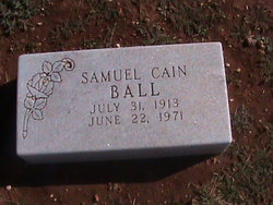 Samuel Cain Ball