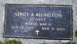 Leroy Albert Allington