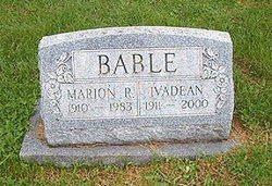 Marion R Bable