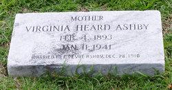 Virginia <I>Heard</I> Ashby