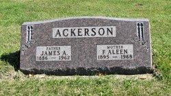 Flossie Aleen <I>Baker</I> Ackerson
