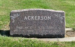 Florence Garnetta <I>Case</I> Ackerson