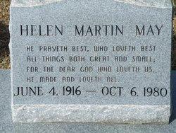 Hellen Elizabeth <I>Martin</I> May