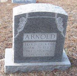 Josie S <I>King</I> Arnold