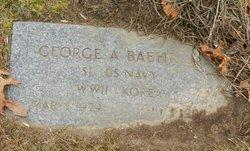 George A Baehr