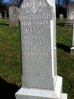 Pauline Lillian <I>Clouser</I> Marsh