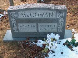 Beulah Anne <I>Vest</I> McCowan