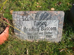 Nancy <I>Bradley</I> Bascom