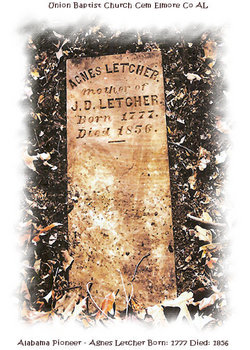 Agnes <I>Talbert</I> Letcher