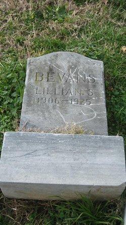 Lillian S. <I>Smith</I> Bevans