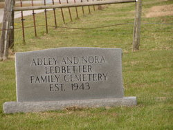 Adley and Nora Ledbetter Family Cemetery