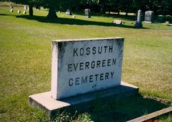 Kossuth Evergreen Cemetery