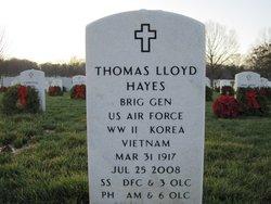 "BG Thomas Lloyd ""Tommy"" Hayes"