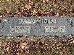 Cora <I>Sutton</I> Alexander