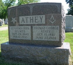 Euphemia <I>Kirk</I> Athey