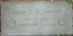 Emma Elizabeth <I>Griffin</I> Schmidt