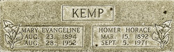 Mary Evangeline <I>McNeely</I> Kemp