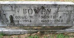 """Roxie Armintie """"Mintie"""" <I>Allison</I> Bowen"""