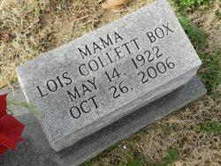 Mrs Lois Collett Box