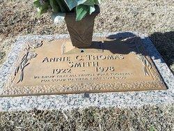 Annie C <I>Thomas</I> Smith
