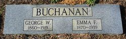 Emma Frances <I>Fant</I> Buchanan