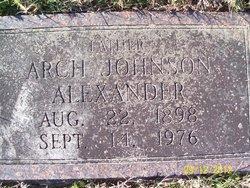 Arch Johnson Alexander