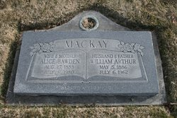 Sarah Alice <I>Bawden</I> Mackay