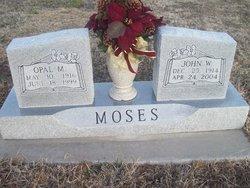 Opal Mae <I>Hensley</I> Moses